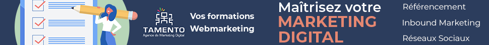 Formations webmarketing Tamento